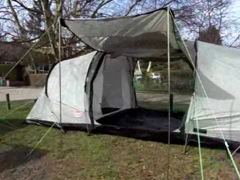 & Coleman Evanston 6 Person Tunnel Tent - YouTube