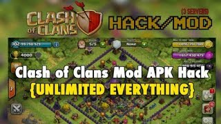 Download mod apk of clash of clans