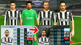 bdcc29ad0 How To Hack JUVENTUS Team 2018 ○ All Players 100   Kits Logo ○ Dream League  ...