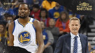 Steve Kerr Discusses Kevin Durant's Injury In 2019 NBA Finals & Leaving For Brooklyn | ALL THE SMOKE