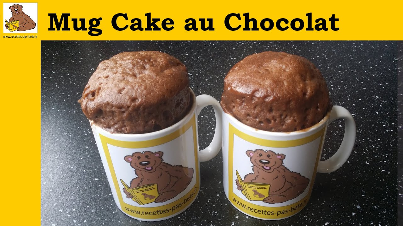 mug cake au chocolat recette rapide et facile youtube. Black Bedroom Furniture Sets. Home Design Ideas
