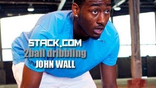 Ball Handling Drills: John Wall Two-Ball Dribbling Drill