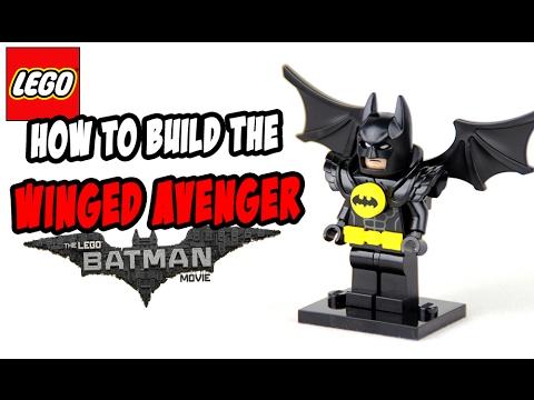 Lego Batman Movie Winged Avenger Batsuit (How To Build)