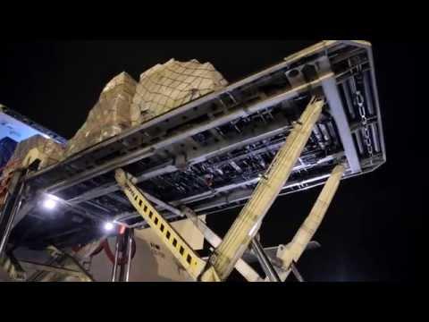 TNT NIGHT OPERATIONS IN LIEGE ( TNT EURO HUB )