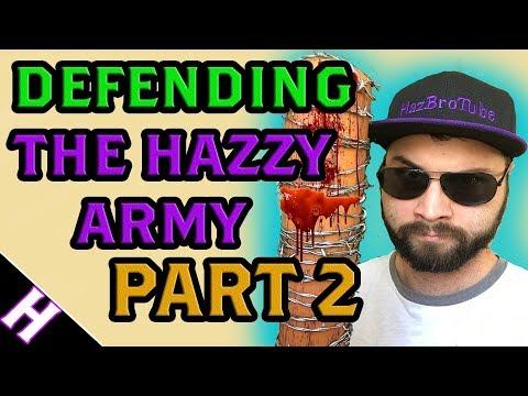 1v2 Against The Hazzy Army Cyberbully! | Rainbow Six: Siege