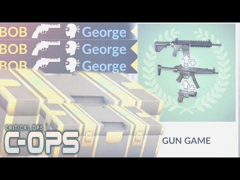 CRITICAL OPS: ATUALIZAÇÃO GUN GAME (CORRIDA ARMADA PARECIDO COM O CS GO) 0.9.6 ‹‹ FalandoJogando ››