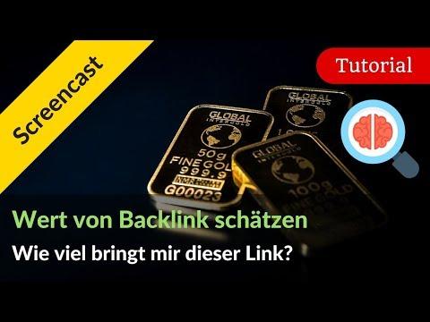 Backlink bewerten: Wie viel ist dieser Link für mein Projekt wert?