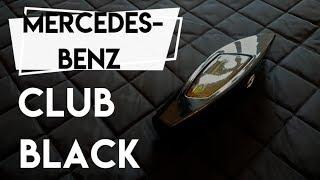 PACHNĄCY TYP - PERFUMY MERCEDES BENZ Club Black - Wanilia, kadzidło i cytrusy