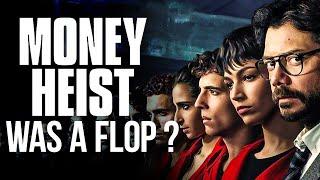 Money Heist was a Failure Series? | La Casa De Papel | Netflix