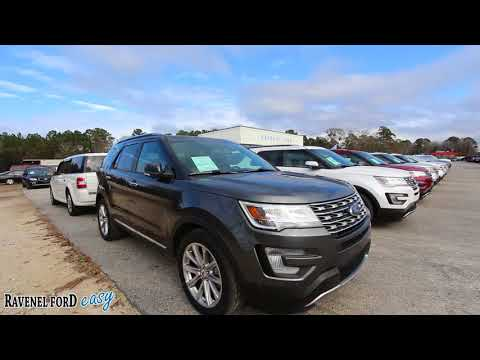 2017 Ford Explorer w/Limited Package   For Sale Review & Condition Report at Ravenel Ford   2018
