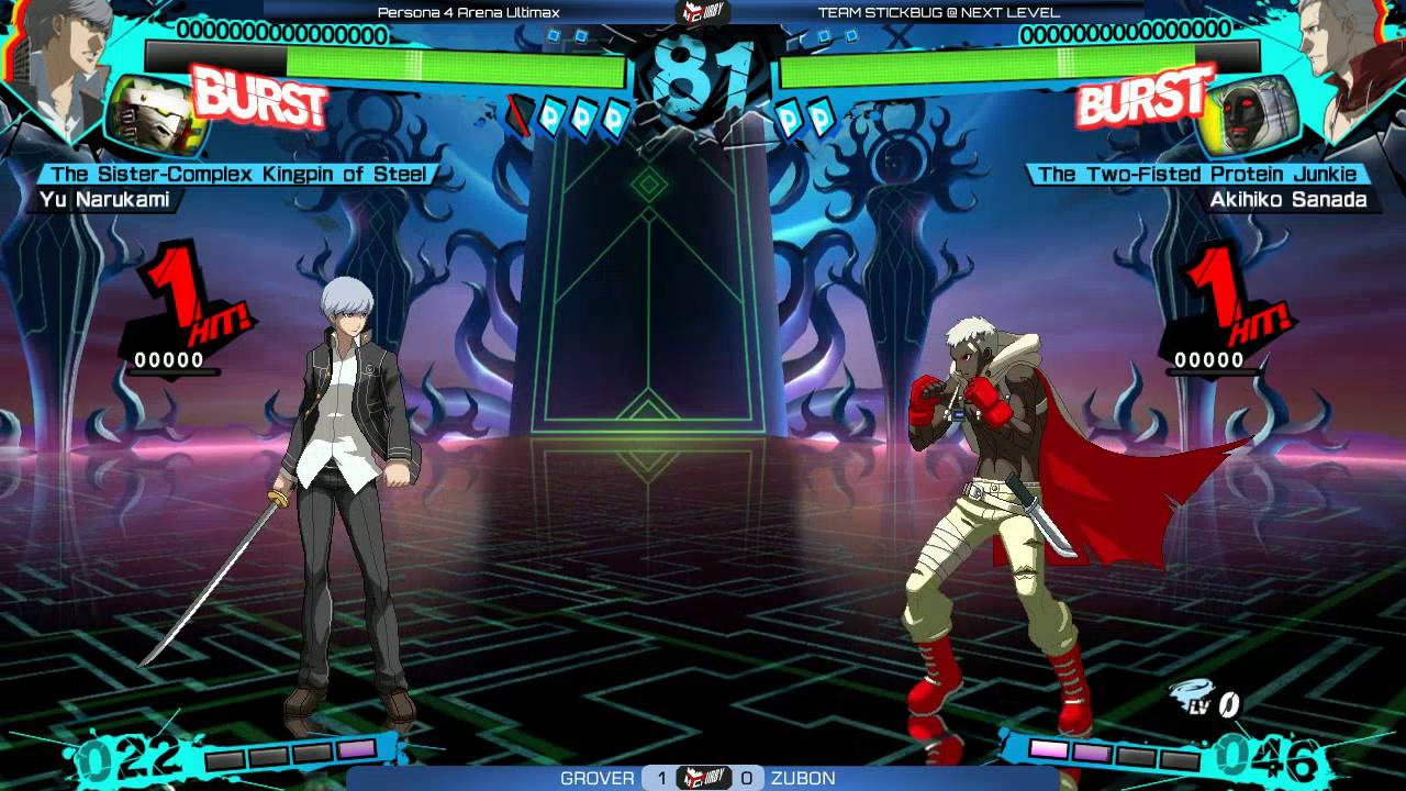 Persona 4 Arena Ultimax Top 6 @ TSB Farewell [720p/60fps]