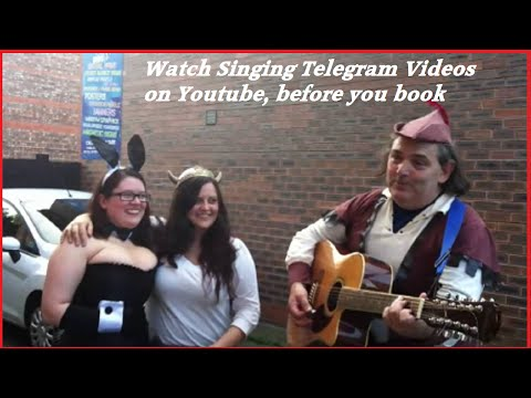 Real Singing telegrams Manchester   Engagement song for Vicky and Vix