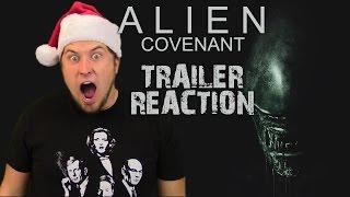 Alien: Covenant - Official Trailer Reaction