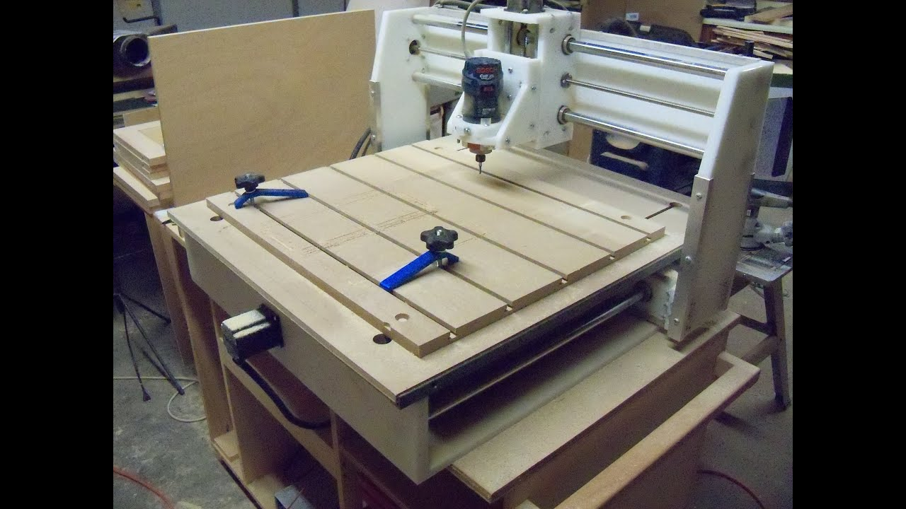 Benchtop Cnc Spoil Board Youtube