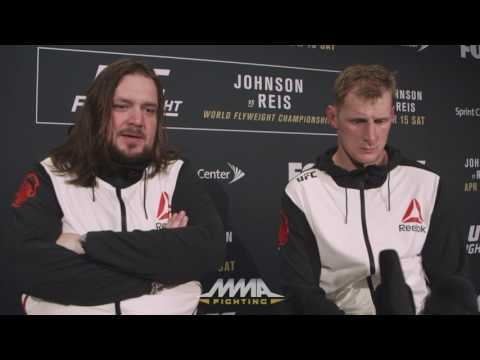 UFC on FOX 24: Alexander Volkov Reflects on Win Over Roy Nelson, Wants Higher Ranked Opponents