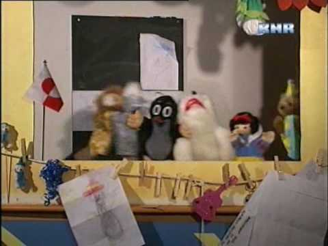Dancing with Puppets in Greenland on Greenlandic KNR-TV