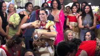 Mrs Trisha Beale Lavulo's Wedding Tau'olunga
