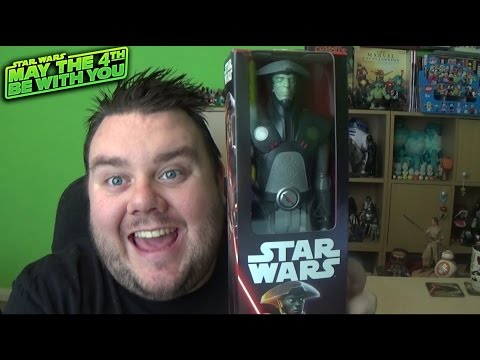 Star Wars Rebels Titan Hero  Series 12'' Fifth Brother Inquisitor Action Figure Unboxing Review
