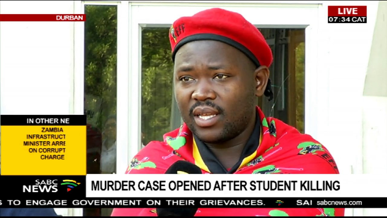 UPDATE: DUT remains closed after student killing - YouTube