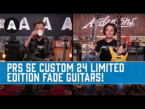 PRS SE Custom 24 Limited Edition Fade Guitars - Private Stock Inspired Finishes!