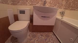 Обзор ванной комнаты после ремонта г.Брянск