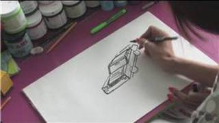 How to Draw Cars : How to Draw a Nissan Skyline