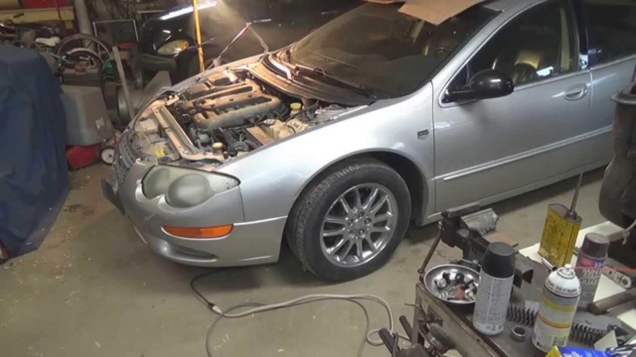 2001 2004 Chrysler 300m Inner Tie Rod Bushing Replacement