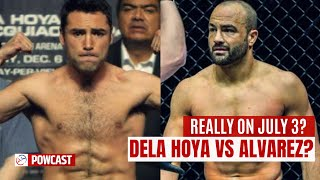 Seryoso Ba To? Oscar Dela Hoya Vs Eddie Alvarez Sa July 3