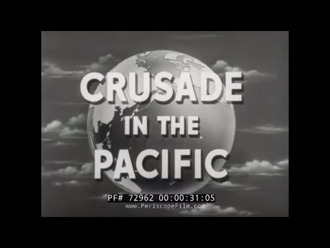 """CRUSADE IN THE PACIFIC TV SHOW Episode 12 """"THE WAR AT SEA""""   72962"""