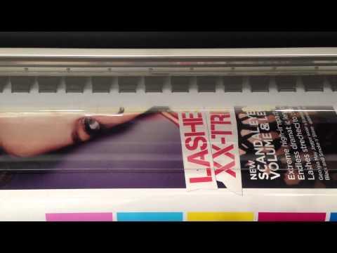 HP 9000s large format solvent inkjet printer - for sale