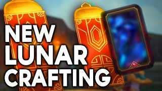 NEW LUNAR CRAFTING OPENING - EXTRA FREE GEMSTONES & SKINS (League of Legends)