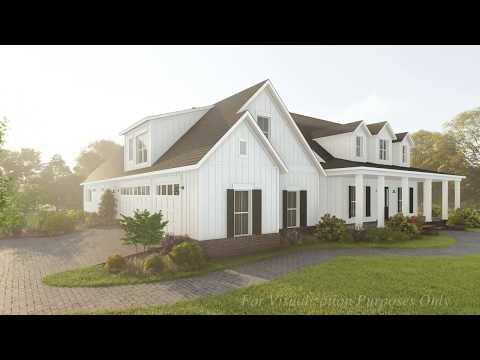 MODERN FARMHOUSE HOUSE PLAN 041-00179