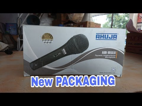 AHUJA AUD-101XLR Multi Purpose Microphone UNBOXING & REVIEW