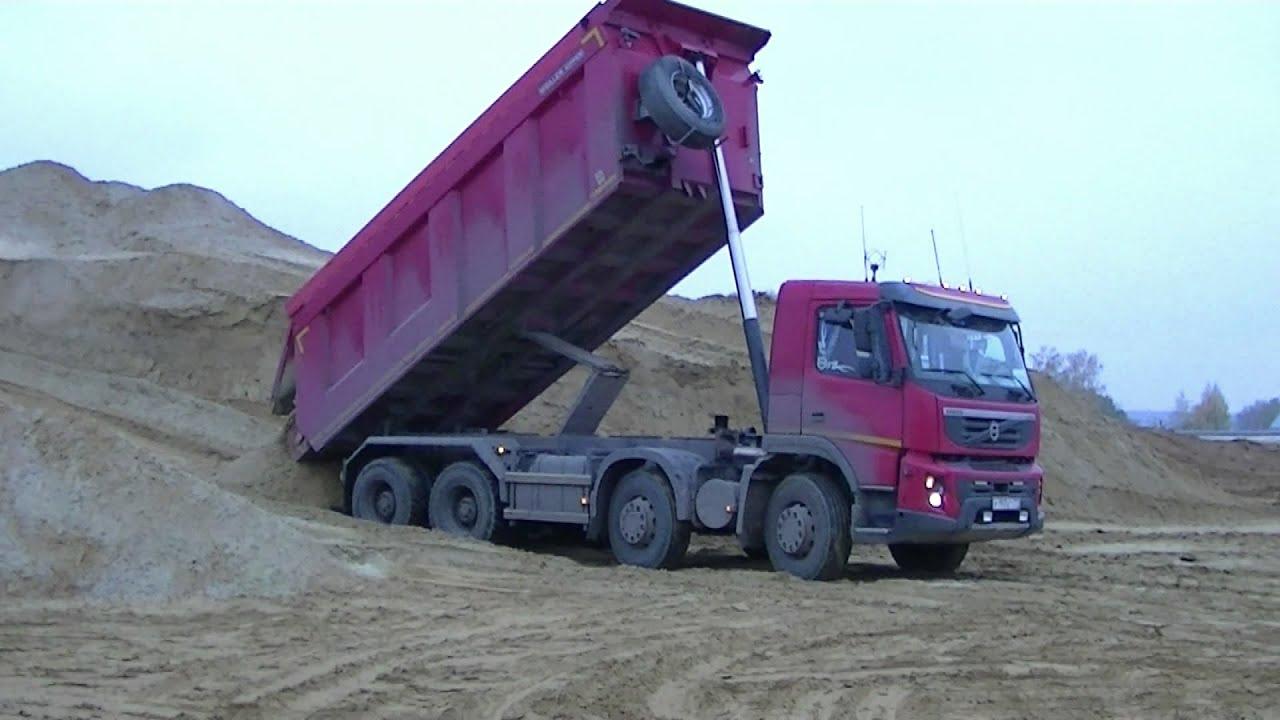"""Грузовик самосвал """"Volvo"""" 40 т"""