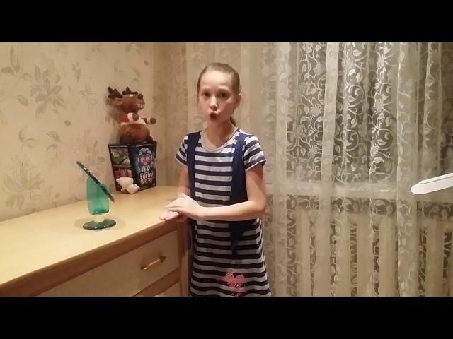 Изображение предпросмотра прочтения – АлинаХрапунова читает произведение «Зеркало и обезьяна» И.А.Крылова