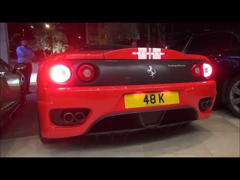 Ferrari 360 Challenge Stradale Amazing Sounds In Monaco And Tunnels!!