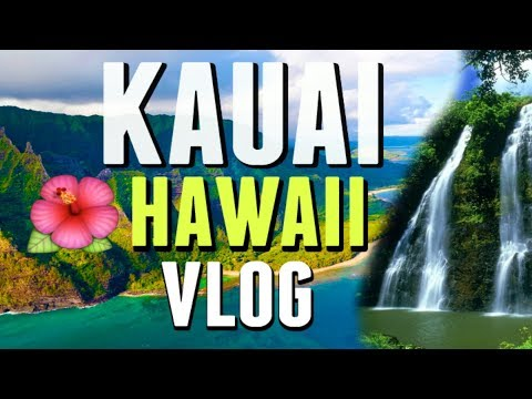 KAUAI, HAWAII Tropical Travel Beach Photoshoot VLOG     2017 4K
