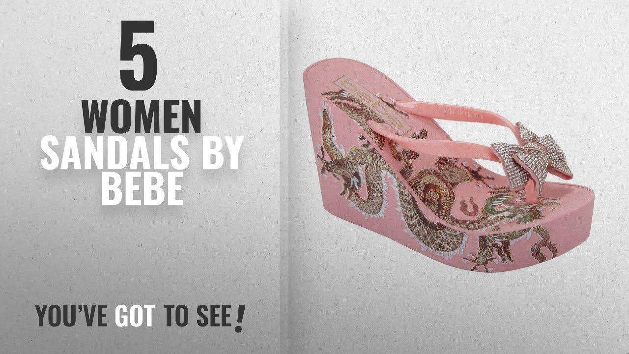ffe9073bbcf6 Top 5 Bebe Women Sandals  2018   bebe Women s Alaya Flip-Flop