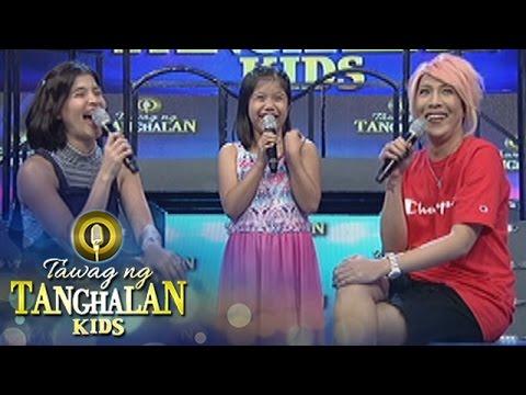 Tawag ng Tanghalan Kids: Do Vice and Anne use musical.ly?