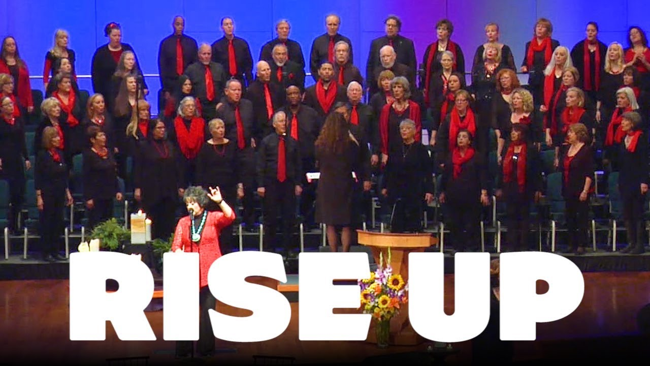 RISE UP - Beautiful New Thought Music - Mile Hi Choir - [ Andra Day ]