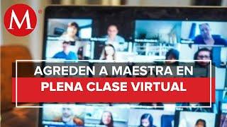 Maestra de la UAEMex es agredida mientras daba clases virtuales