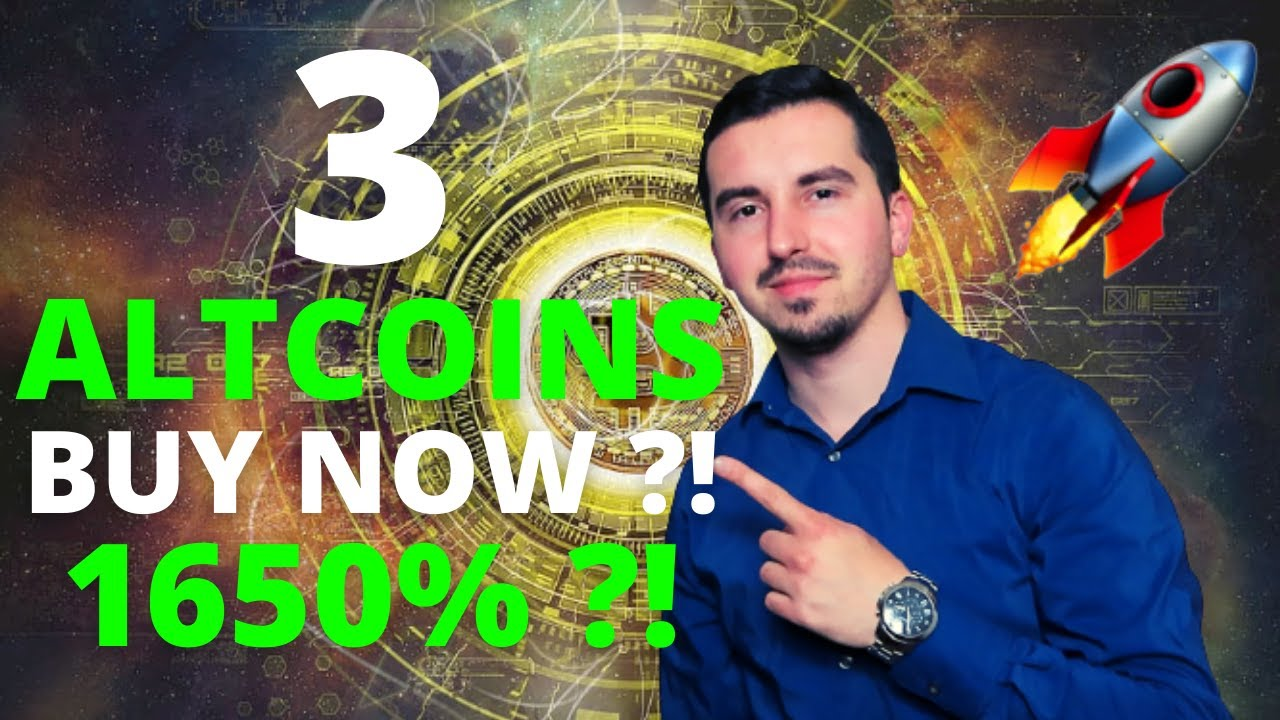 Top 3 Altcoins Ready To EXPLODE in October 2021🚀 CRYPTO NOW 1650% ?!CRYPTO POTENTIAL(DONT MISS OUT)😱