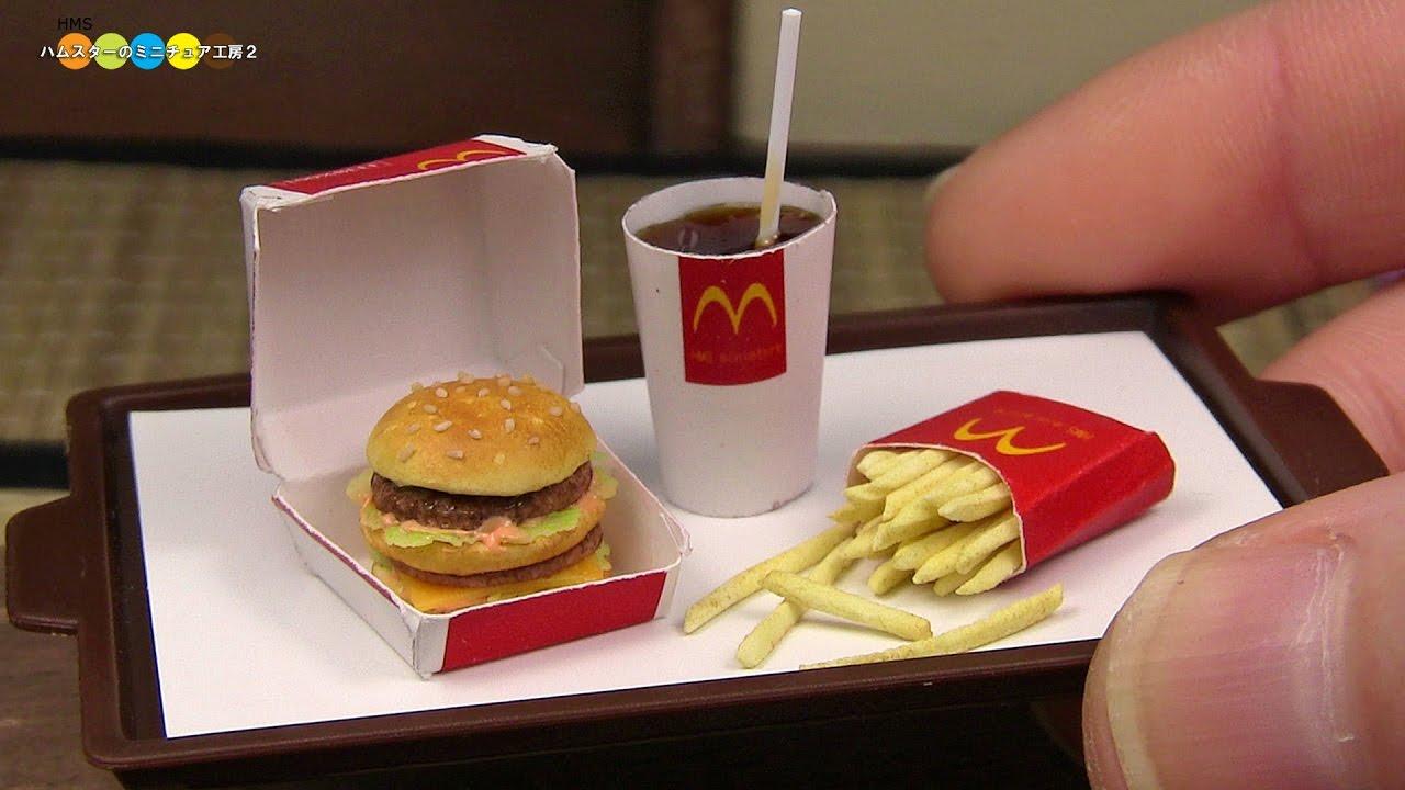 Diy mcdonald 39 s style miniature big mac meal fake food - Fast good cuisine big mac ...