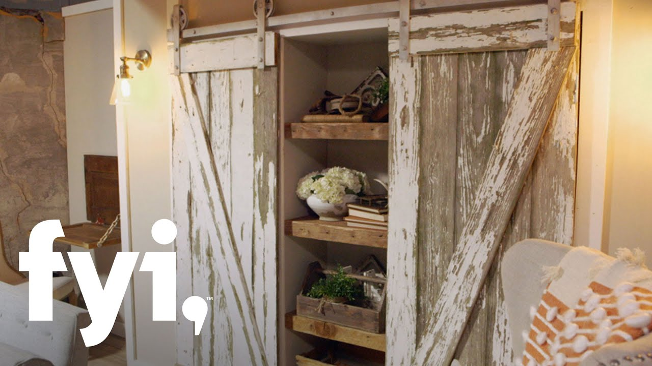 Build Your Own Barn Door | You Can't Turn That Into A House | FYI ...