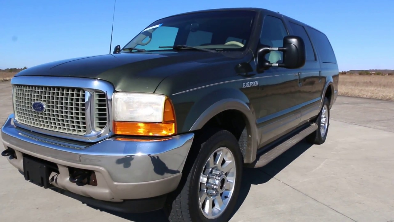 15995 rare 2000 ford excursion 4x4 7 3l diesel for sale1 ownerexceptional condition