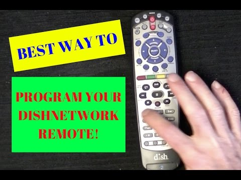 Program Your Dish Network Remote to TV or ANY Device in Less than 3 Min