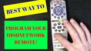 Program Your Dish Network Remote to TV or ANY Device in Less than 3 Min...