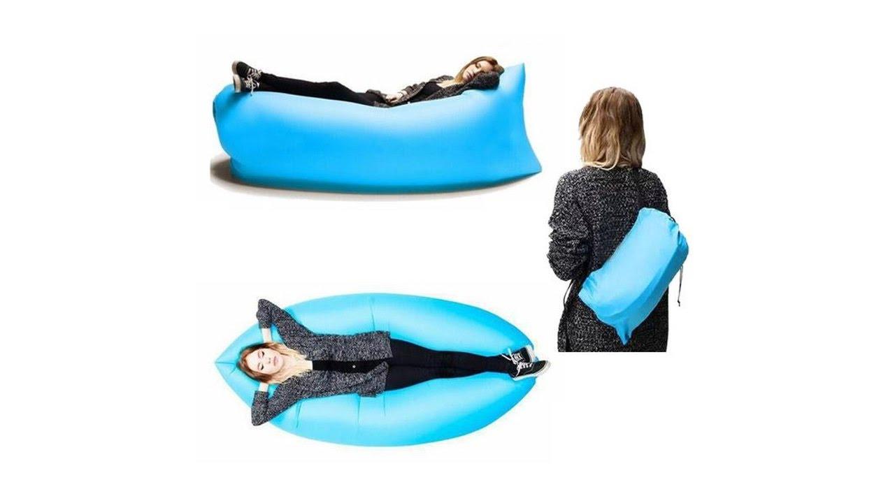 Outdoor sofa portable lazy sofa folding inflatable bed beach lazy air sofa  sleeping bag - Outdoor Sofa Portable Lazy Sofa Folding Inflatable Bed Beach Lazy