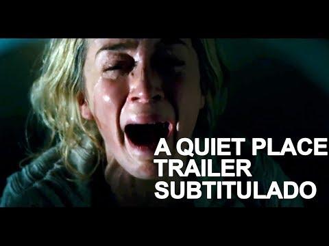 Un lugar en silencio, trailer #2, Subtitulado al español