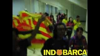 Chants Indobarca di Gelora Bung Karno (Indonesia Barcelona Fans Club)